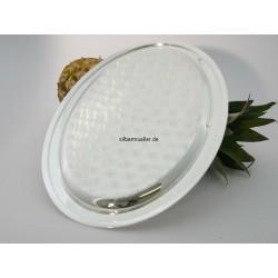 Silbertablett oval 35x25cm _1