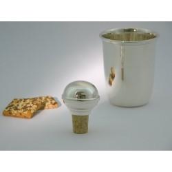 Silberkorken kugelform