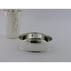 Flaschenuntersatz Silberboden _2