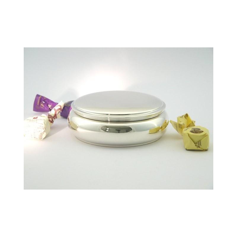 Klassische Silberdose 14cm