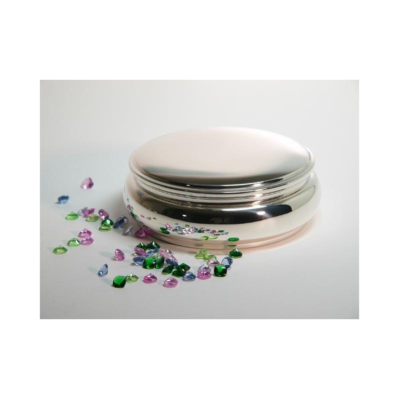 Klassische Silberdose 12cm