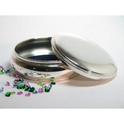 Klassische Silberdose 12cm _1