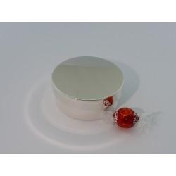 Elegante Silberdose 10,5cm _2