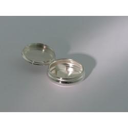 Kleine runde Silberdose _1