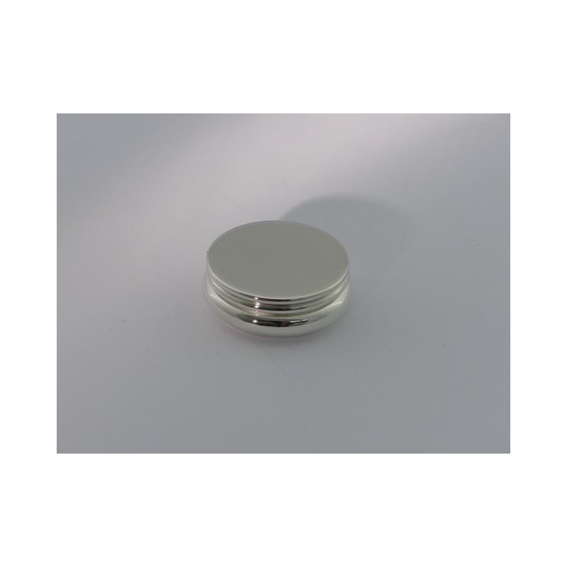 Kleine runde Silberdose