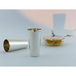 Schlanker Silberbecher 10cm _2