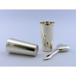 Schlanker Silberbecher 10cm _1