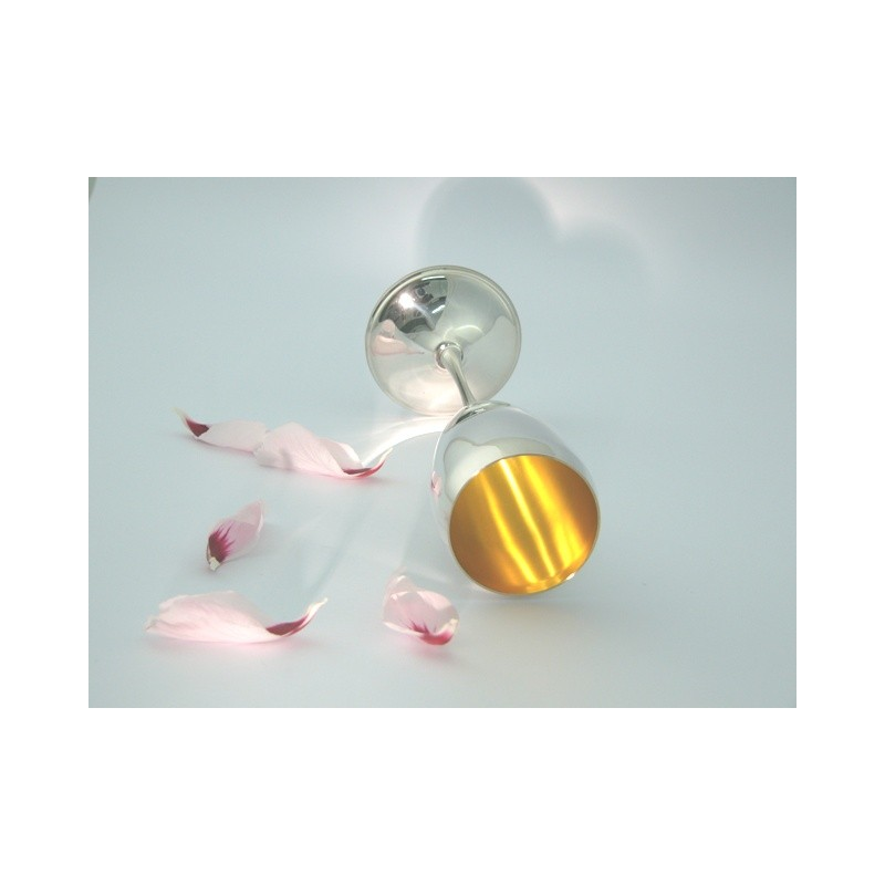 925 Silber Champagnerflöte