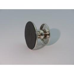 Silberleuchter 4,5cm Perlrand_2