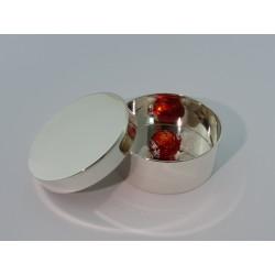 Elegante Silberdose 10,5cm _1
