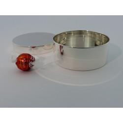 Elegante Silberdose 10,5cm _3