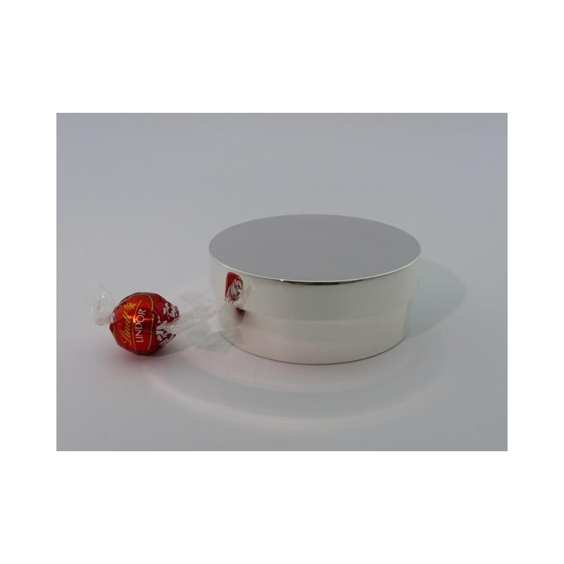 Elegante Silberdose 10,5cm