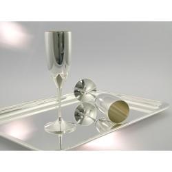 Silber Champagnerflöte