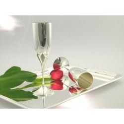 Silber Champagnerflöte _1