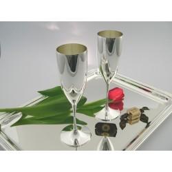 Silber Champagnerflöte  _2