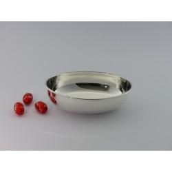 Silberschale oval glatt _1