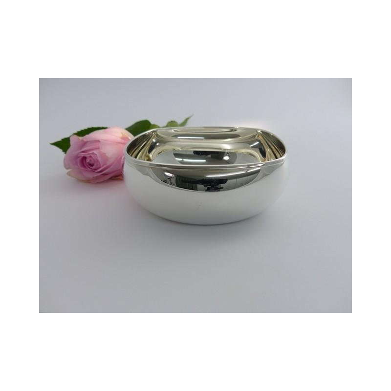 Silberschale 12x12cm