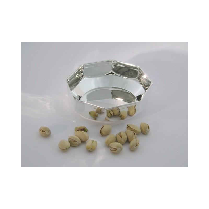 Silberschale achteckig 11cm