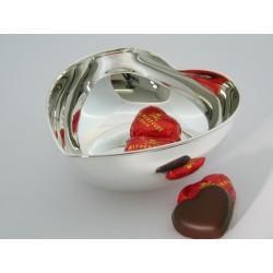 925 Sterling Silber Herzschale