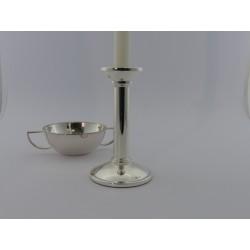 Silberleuchter Bauhaus 15cm