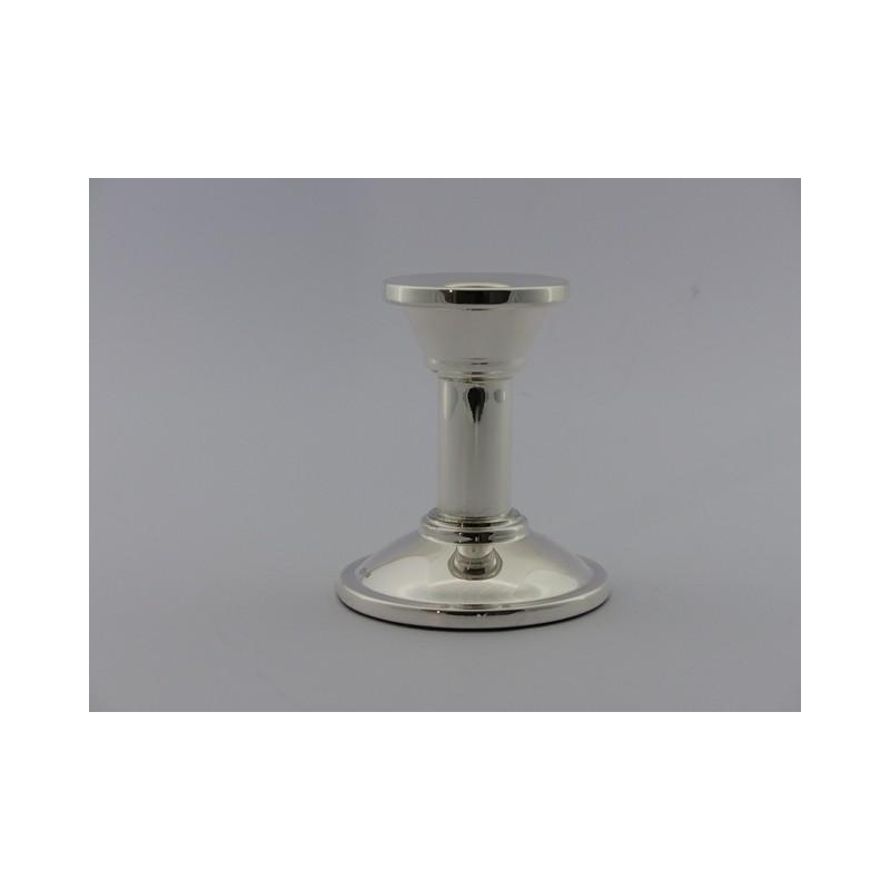 Silberleuchter Bauhaus 9cm