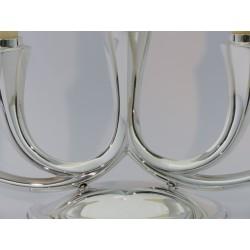 5-lichtiger Silberleuchter _2