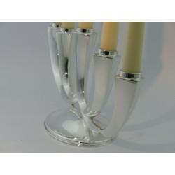 5-lichtiger Silberleuchter _4