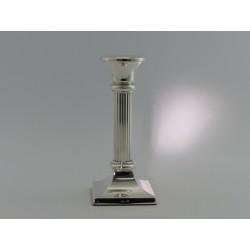 Silberleuchter 17cm Riefen _1