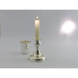 Silberleuchter 9,5cm