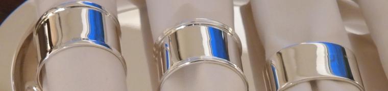 925 Silber Serviettenringe